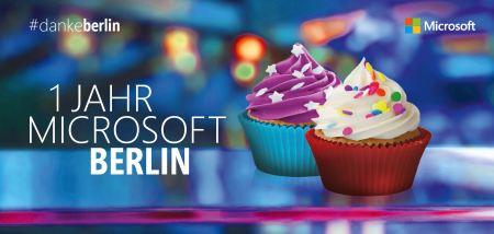 Ein Jahr Microsoft Berlin
